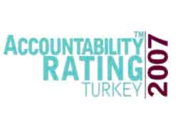 Accountability Rating, Türkiyede